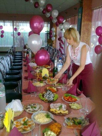 Свадебный банкет заказать Киев